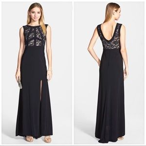 Prom party maxi lace dress